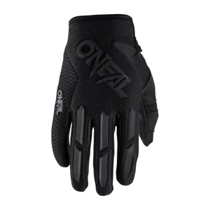 O'Neal Element Youth Attack Children MTB Gloves Touch Fastener Breezy Black