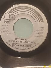 """EDISON LIGHTHOUSE 7"""" 45 RPM - """"Love Grows Where My Rosemary Goes"""" VG condition"""
