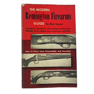 Price Guide The Modern Remington Firearms 1953 Burr Leyson Paperback