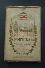 Vacuum Oil Company 1915 - Portugal roads - XL format (152x75) - Paper on tissue