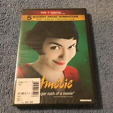 Amelie (Dvd, 2011, 2-Disc Set, Widescreen) Brand New Sealed
