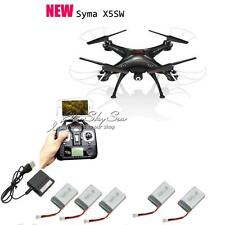 Syma X5Sw Explorers-Ii Quadcopter Drone WiFi Fpv 2Mp Camera+5 Batteries+Charger