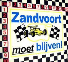 Zandvoort Window Sticker - Porsche 911 356 914 912