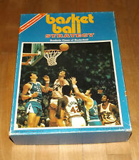Sports Illustrated BASKETBALL STRATEGY board game AVALON HILL 1974 complete