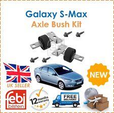 For Ford Galaxy Mondeo S-Max WA6 BA7 Febi Bilstein Rear Axle Mounting Bush Kit