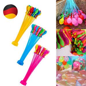 1110 Stück Magic Wasserbomben Wasserballon Sommer Spielzeug Vatertagsgeschenk
