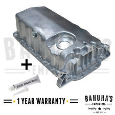 VW GOLF MK4 1997-2006 OIL ENGINE WET SUMP PAN WITH HOLE FOR OIL SENSOR
