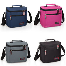Insulated Thermal School Work Travel Lunch Bag Cooler Multi Colour PREMIUM