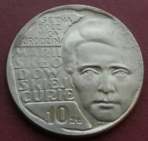 Coin Poland 10 zlotych 1967