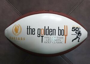 The Golden Boy Paul Hornung Celebrity Golf  Caesar's Indiana Wilson Football