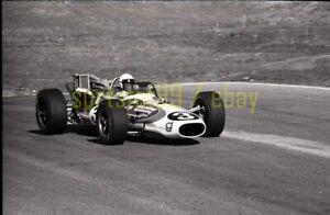 Gordon Johncock #3 @ 1967 USAC Rex Mays 300 Riverside - Vtg 35mm Race Negative