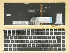 for HP Envy 4-1060ez 4-1150ez 4-1170ez Keyboard Swiss Tastatur backlit Silver