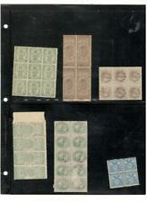 PHILIPPINES MULTIPLES REVENUE STAMP COLLECTION