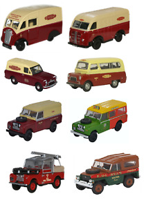 Oxford Diecast - Commercials Cars and Vans 1:76/00 Scale Model Rail Scenics