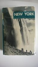 New York A Guide To The Empire State WPA AGS 1939 1st Edtn with Jacket and Map