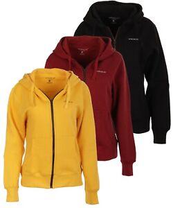 NORDBURY Women Zipper Hoodie Fleece Hooded Jacket Pullover Zip Sweatshirt