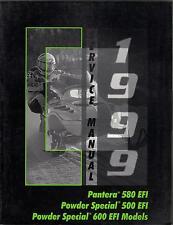 1999 Arctic Cat Pantera, Powder Special 500 Ef P/N 2255-941 Service Manual (809)