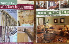 Can't Fail Window Treatments, Decorating Without Fear, Interior Design Lot/2