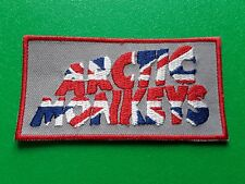 PUNK ROCK HEAVY METAL MUSIC SEW / IRON ON PATCH:- ARCTIC MONKEYS (d) UNION JACK