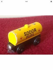 Thomas The Tank Engine & Friends SODOR FUEL WOODEN MAGNETIC CART