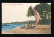 Ceylon Sri Lanka MOUNT LAVINIA Sea Shore Katamaran 1920/30s? PPC
