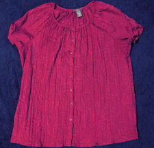 Laura Scott Peasant Top  Size 20-22 NWOT