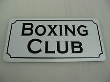 Boxing Club Metal Sign 4 Hockey Rink Club Beer Joint Gym Bar Ice House Judo