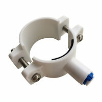 """Reverse Osmosis Waste Water Clamp Valve for RO Unit (1/4"""" Push Fit Connector)"""