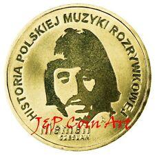 2009 Coin of Poland 2zl  MODERN MUSIC CZESLAW NIEMEN !