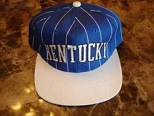 KENTUCKY WILDCATS STARTER STRIPES   DEADSTOCK 90'S HAT CAP VINTAGE SNAPBACK