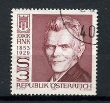 Austria 1979 SG#1844 Jodok Fink Politician Used #A20609