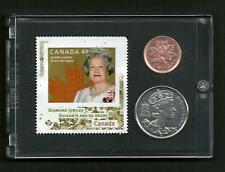 Stamp Gift Idea, Collectible Diamond Jubilee Commemorative 2012 Stamp Coin Set