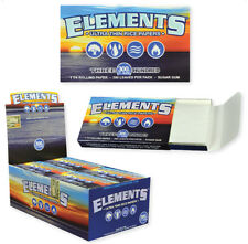 12x Packs ( Elements 300 1 1/4 1.25 ) Ultra Thin Rice Rolling Papers Paper