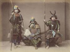Samurai Japan 19th Century Felice Beato Reprint Photo 6x5 inch