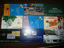 Greece lot 9 phone cards OTE, all with 35.000 pieces