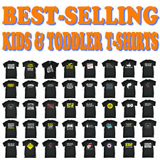 Kids Tshirt Funny Childrens Toddlers Tee Top T-Shirt SUPER VARIOUS DESIGNS BK3