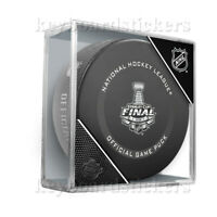2020 NHL Stanley Cup Final Official Game Hockey Puck w/Cube - NEW