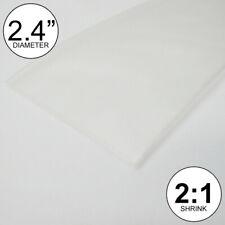 24 Id Clear Heat Shrink Tube 21 Ratio Wrap 2x24 4 Feet Inchftto 60mm