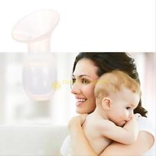 Full Silicone Breastfeeding Manual Nursing Strong Suction Reliever Breast Pump