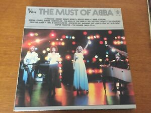 """33 tours """" the must of ABBA"""""""