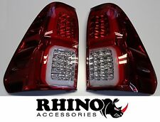 New Pair of LED Taillight Tail lights for Toyota Hilux Revo 2015 - 2017