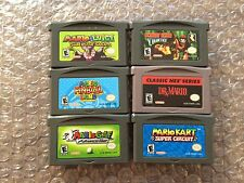 Mario & Luigi: Superstar Saga + Golf+Kart+Dr. Mario+Pinball+DK Country (GBA LOT)