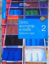 DIRITTO ECONOMIA REALTA VOL.2 EDIZIONE MISTA - C.AIME C.DI OTTIGLIO - TRAMONTANA