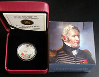 2013 Canada $4 Fine Silver Coin - Heroes of 1812 Charles- Michel De Salaberry