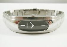 Seiko SUJ453 Silver Tone Stainless Steel 1N00-0GC8 Sample Watch NON-WORKING