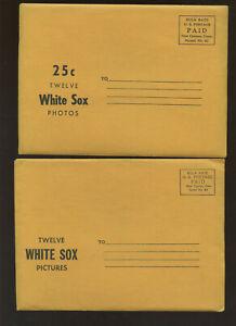 1960 Jay Publishing Chicago White Sox Factory Photo Set (12) NM/MT