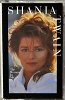 Cassette Shania Twain The Woman in Me Whose Bed TESTED  --Extra Tapes Ship Free
