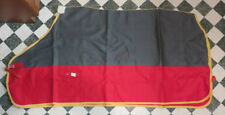 "New 5'9"" Cotton Drill Show or Under Rug Super deep rug with safety of leg straps"