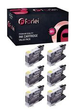 6 NON-OEM BLACK INK CARTRIDGE BROTHER LC-75 LC-71 LC-75BK MFC-J825DW MFC-J835DW