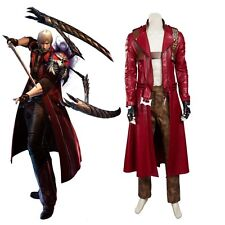 High Quality Devil May Cry 3 DMC3 Dante Cosplay Costume Perfect Unisex Any Size